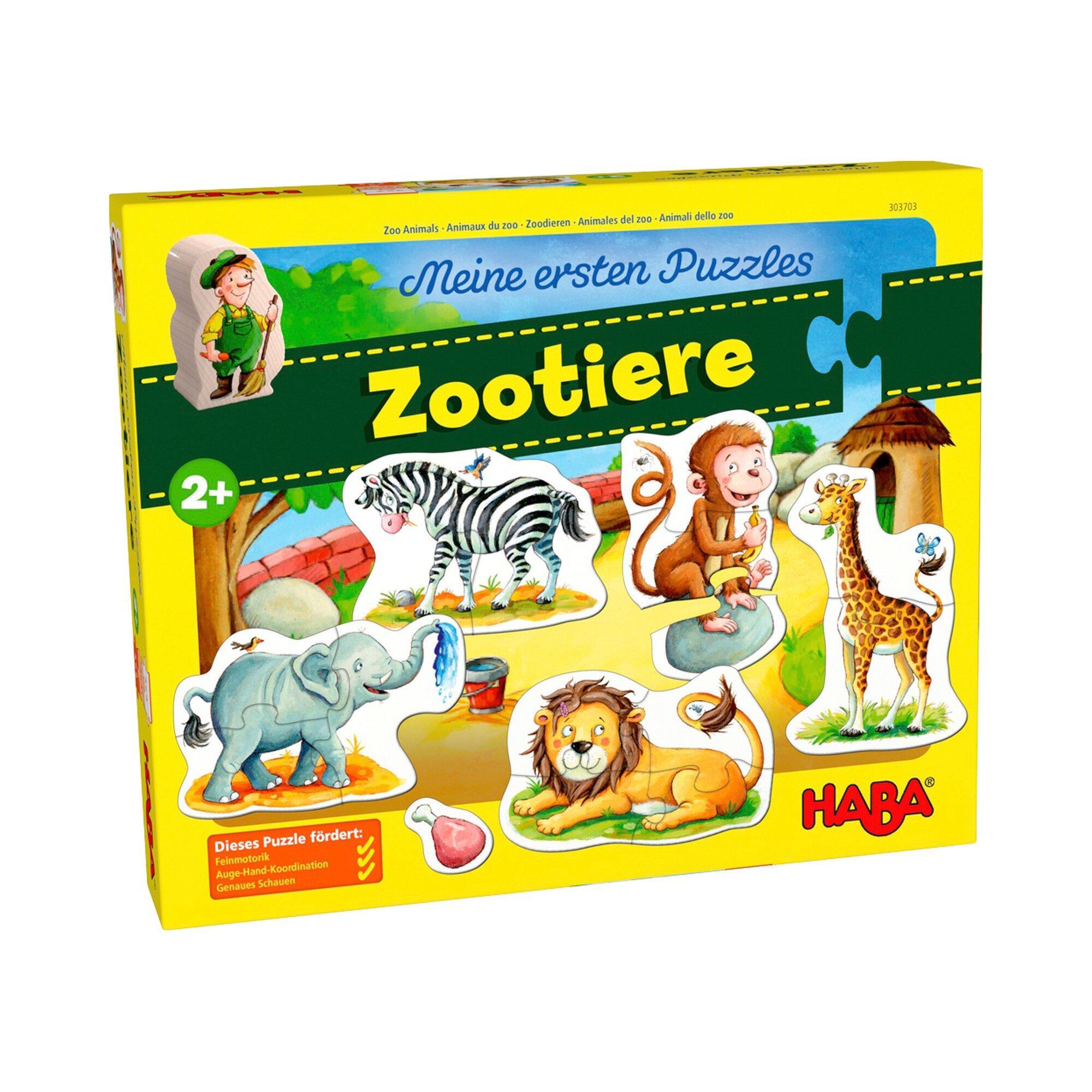 Meine ersten Puzzles - Zootiere