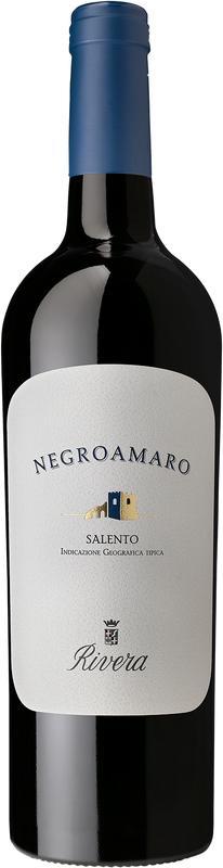 2017 Negroamaro Salento IGP trocken von Rivera Azienda Agricola - Rotwein