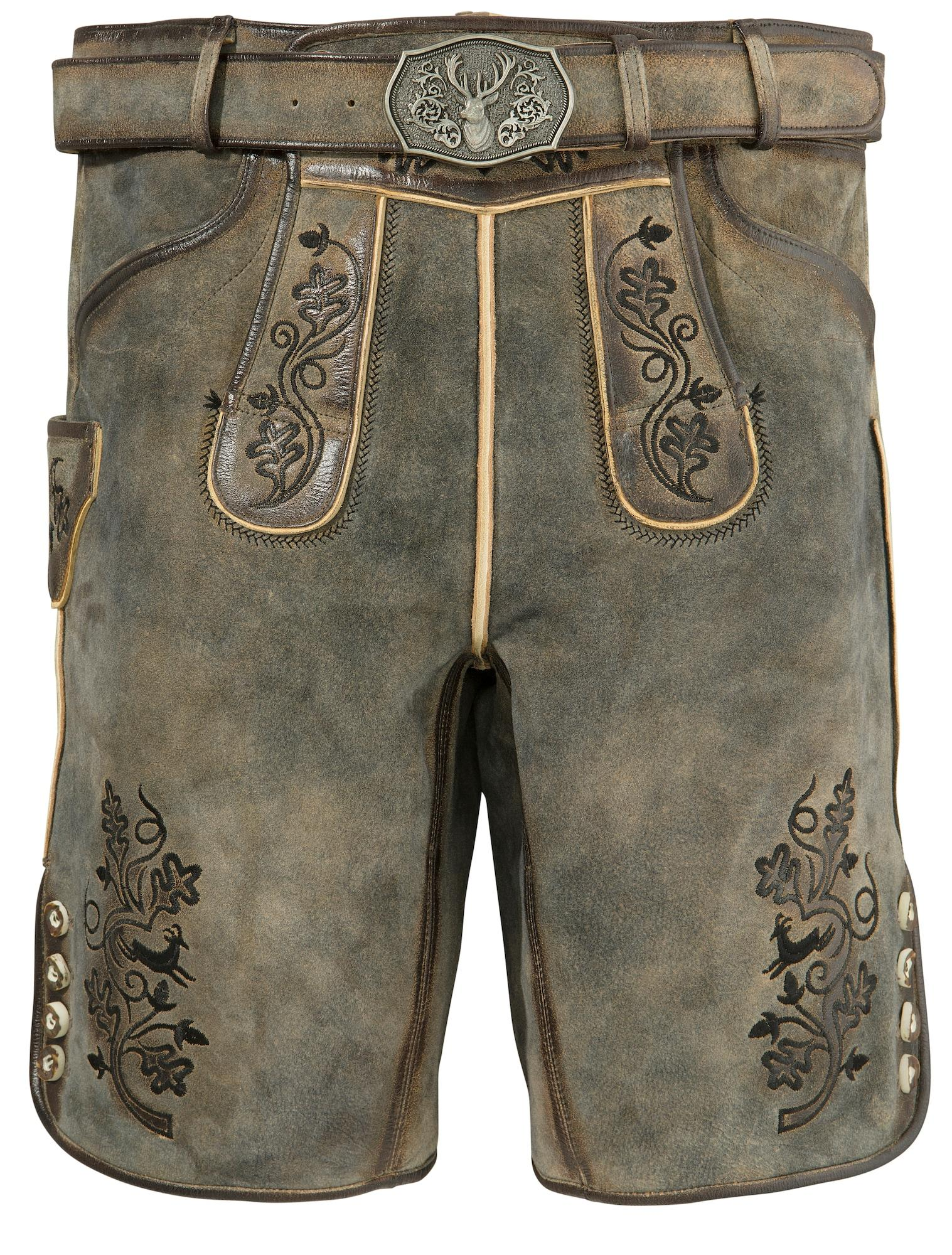 COUNTRY LINE Lederhose anthrazit