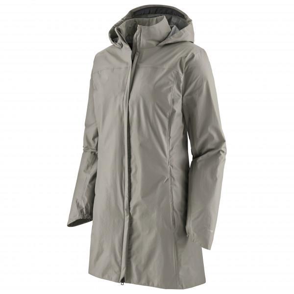 Patagonia - Women's Torrentshell 3L City Coat - Mantel Gr XS grau