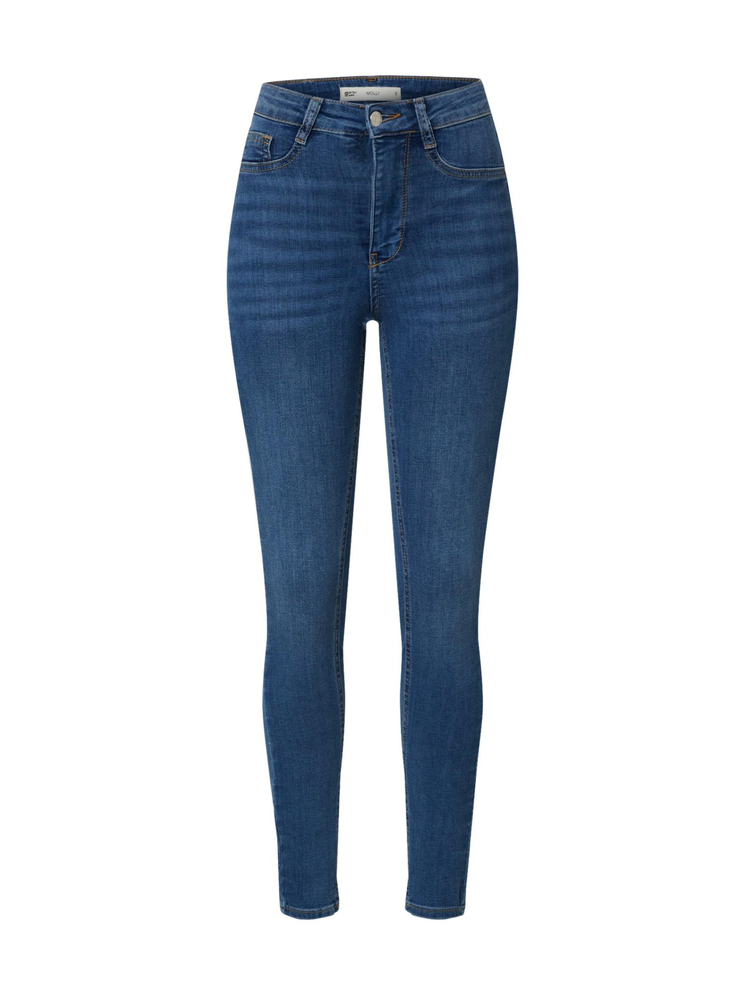 Gina Tricot Jeans 'Molly highwaist jeans' blue denim