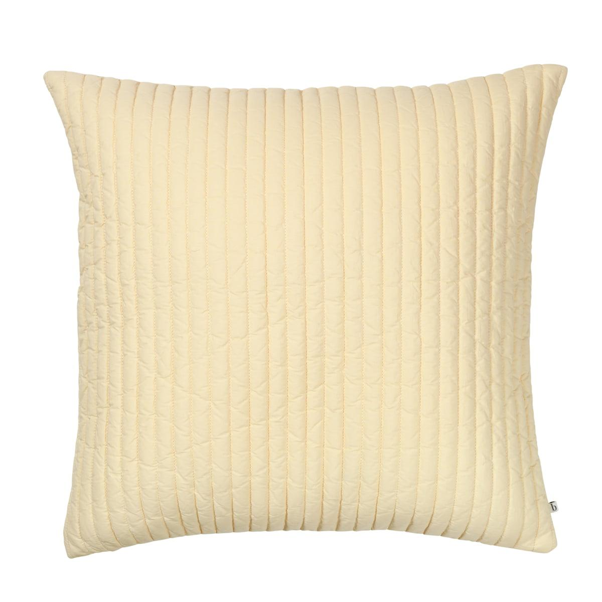 Broste Copenhagen - Sena Kissenbezug, 60 x 60 cm, golden fleece