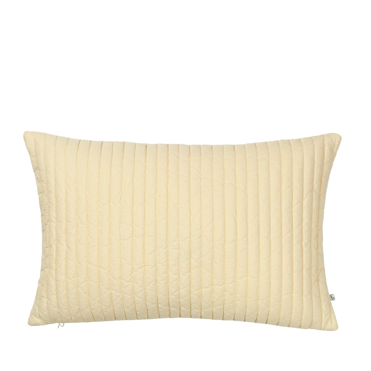 Broste Copenhagen - Sena Kissenbezug, 40 x 60 cm, golden fleece