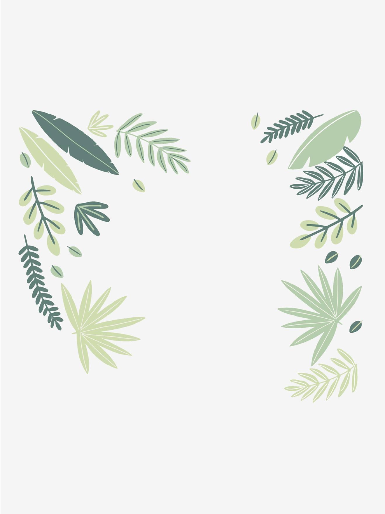 """Kinderzimmer Wandsticker """"Natur"""" grün von vertbaudet"""