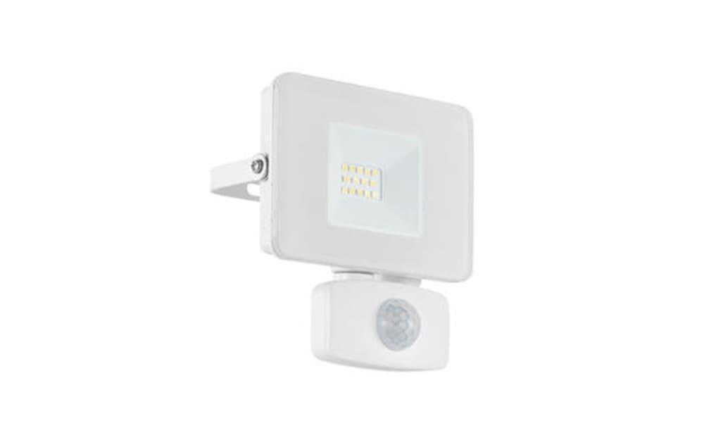 LED-Außen-Wandleuchte Faedo 3 in weiß, 13,5 cm