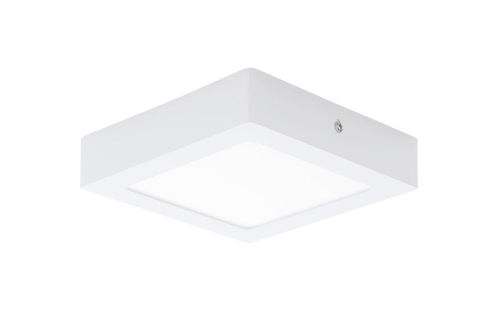 LED-Aufbauleuchte Fueva 1 in weiß / 12W, 17 x 17 cm