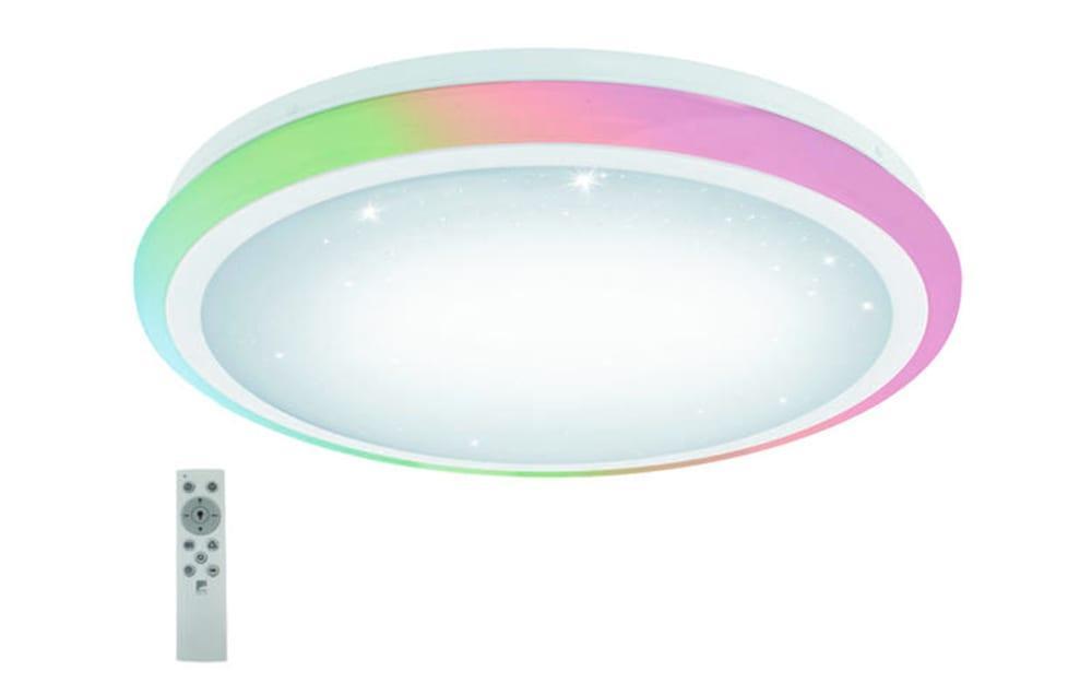 LED-Deckenleuchte Lipari mit Kristalleffekt, 40 cm