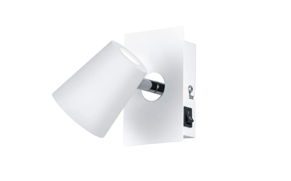 LED-Wandspot Narcos in weiß matt