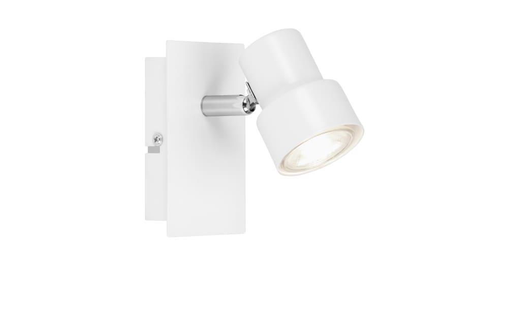 LED-Wandleuchte Spot in weiß, 12 cm