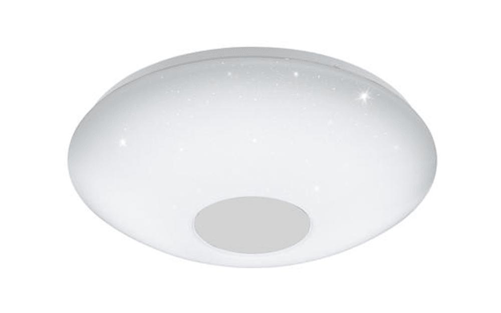 LED-Deckenleuchte Voltago 2 mit Kristalleffekt, 29,5 cm