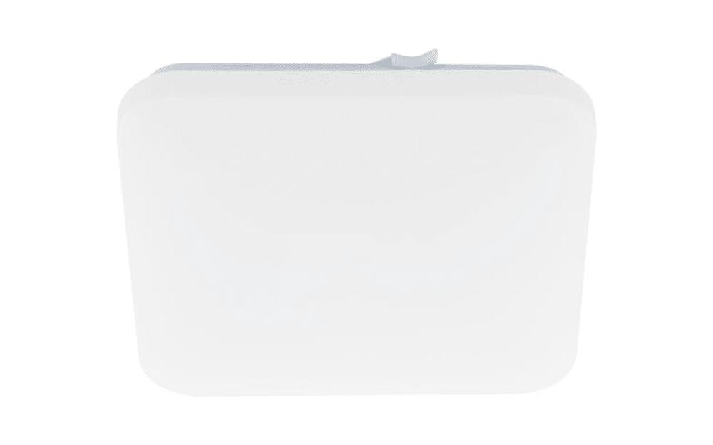 LED-Deckenleuchte Frania in weiß/eckig, 33 x 33 cm