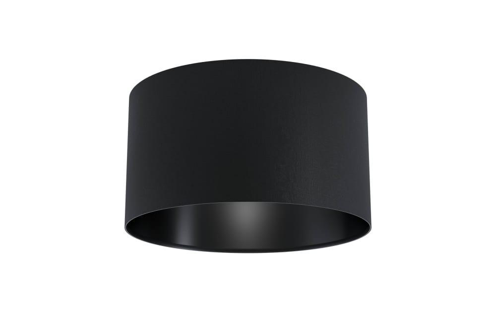 Deckenleuchte Maserlo 1 in schwarz