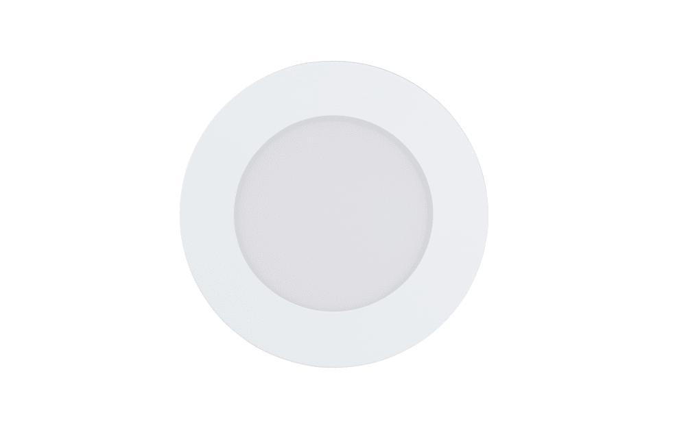 LED-Einbauleuchte Fueva-C in weiß, 12 cm