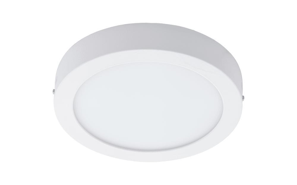 LED Aufbauleuchte Fueva 1 in weiß/metall
