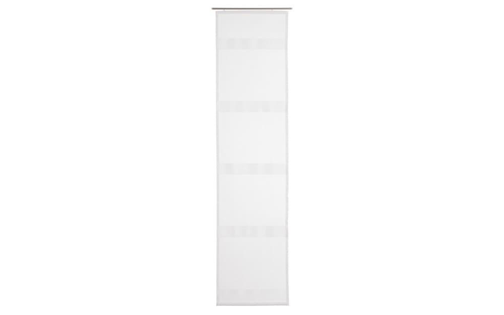 Schiebevorhang La Paz in weiß, 60 x 245 cm