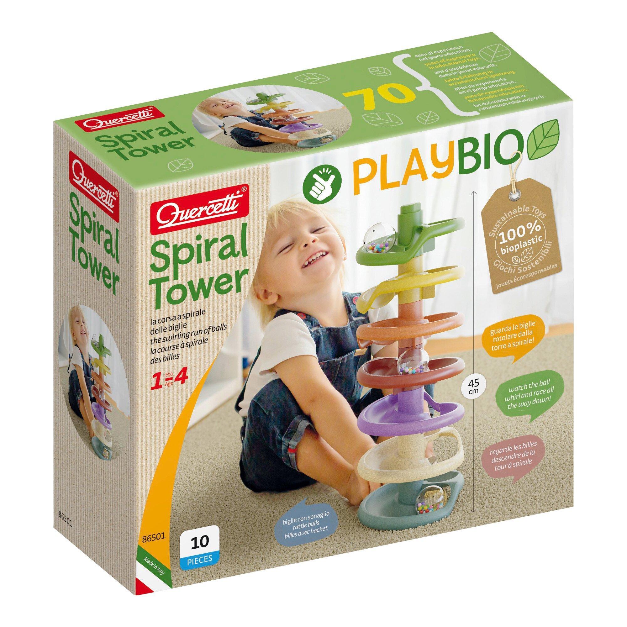 Kugelbahn Spiral Tower Play Bio