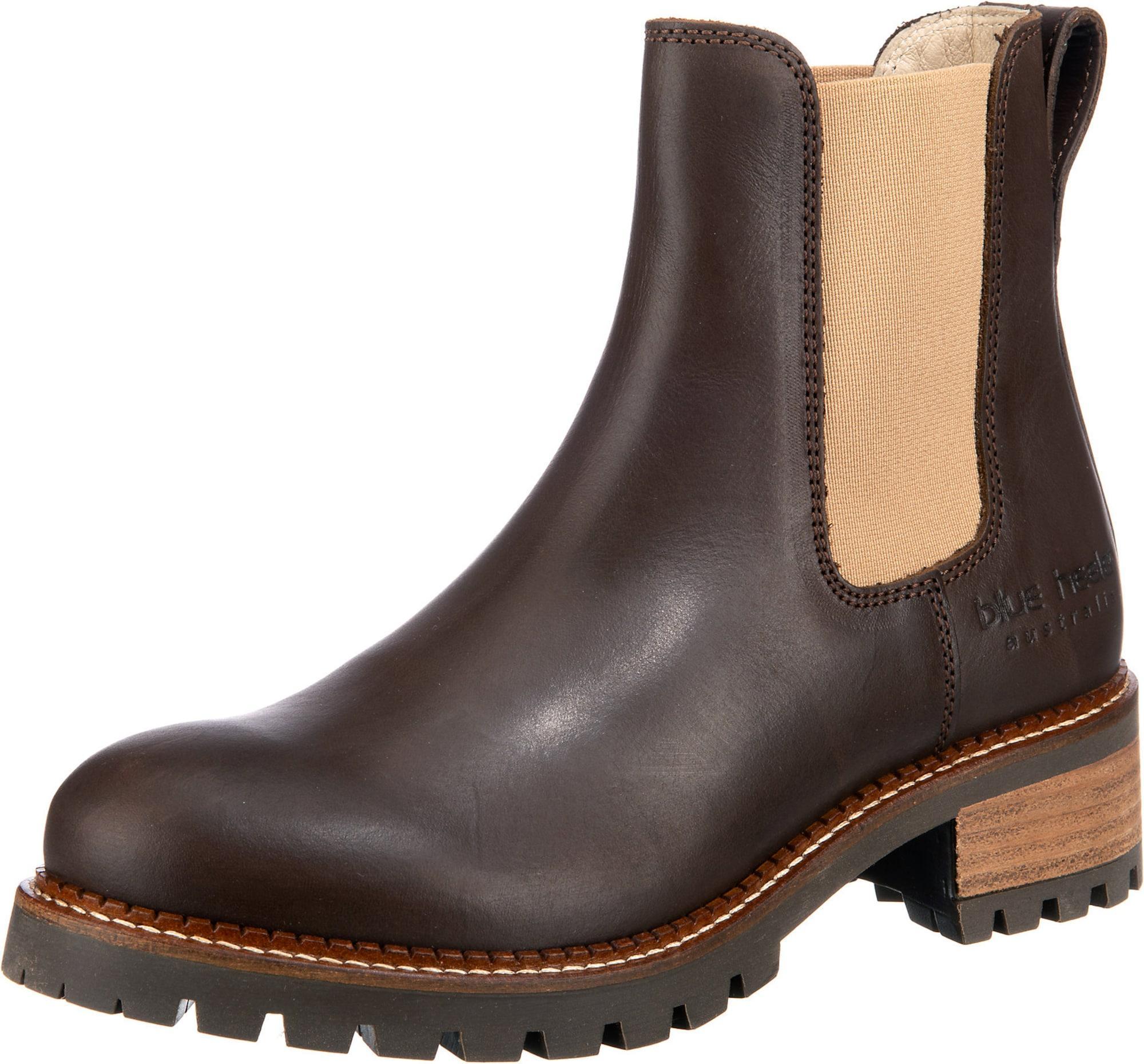 Blue Heeler Boots braun