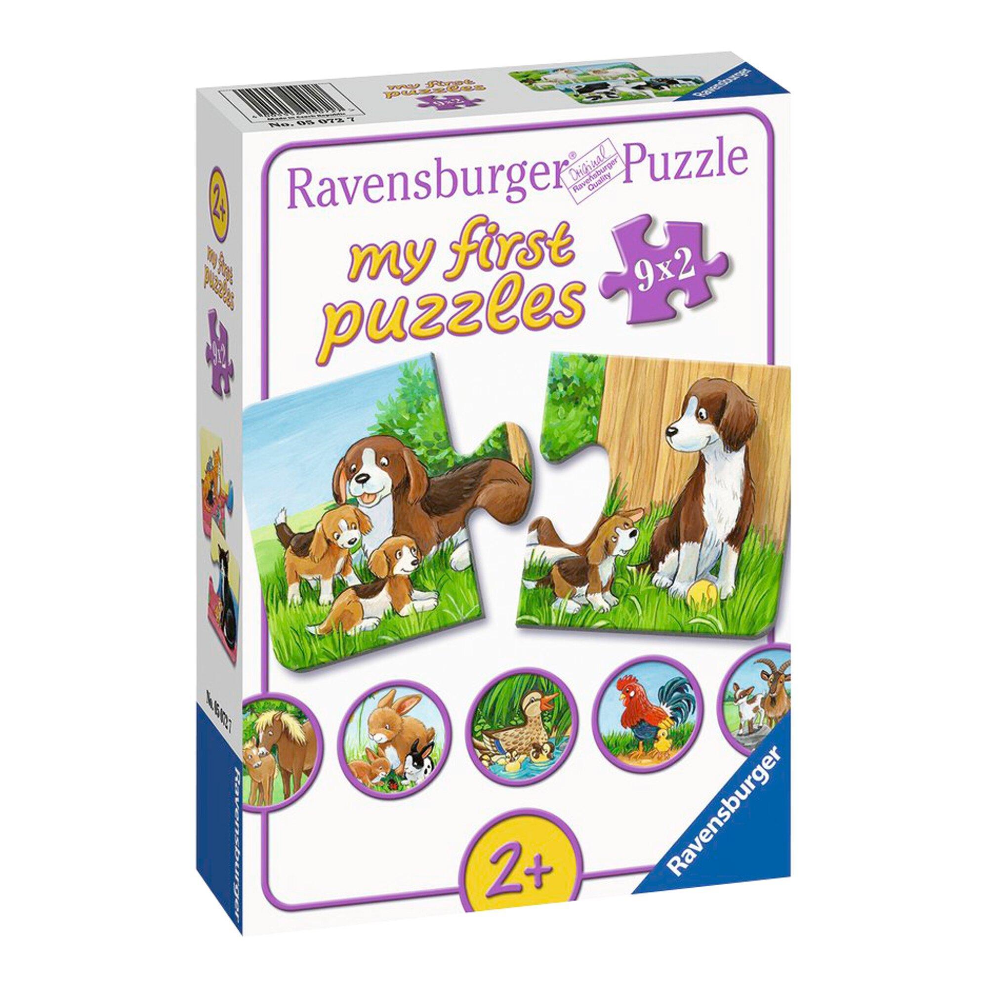 my first puzzles - Tierfamilien auf dem Bauernhof