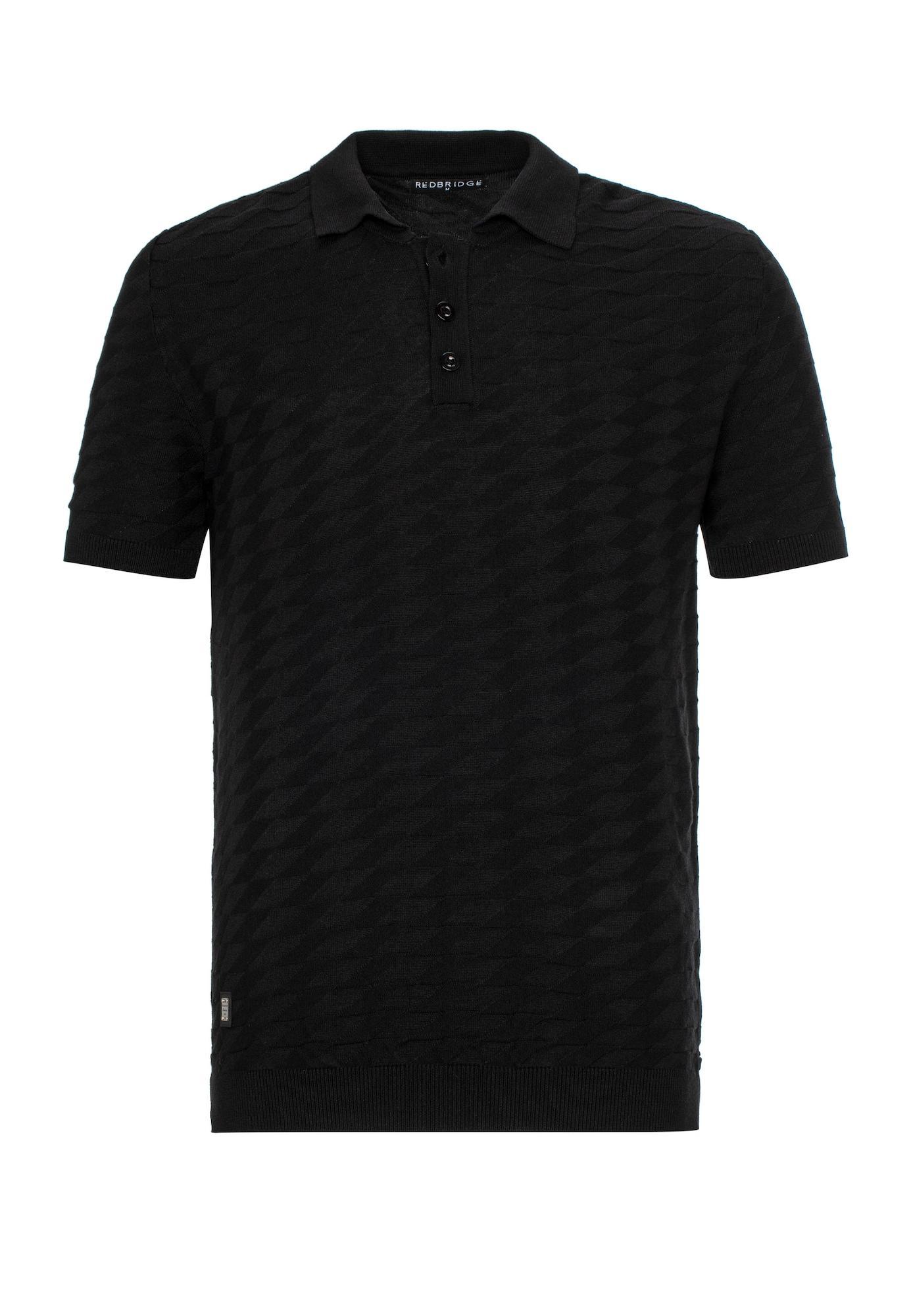 Redbridge Poloshirt 'Provo' schwarz