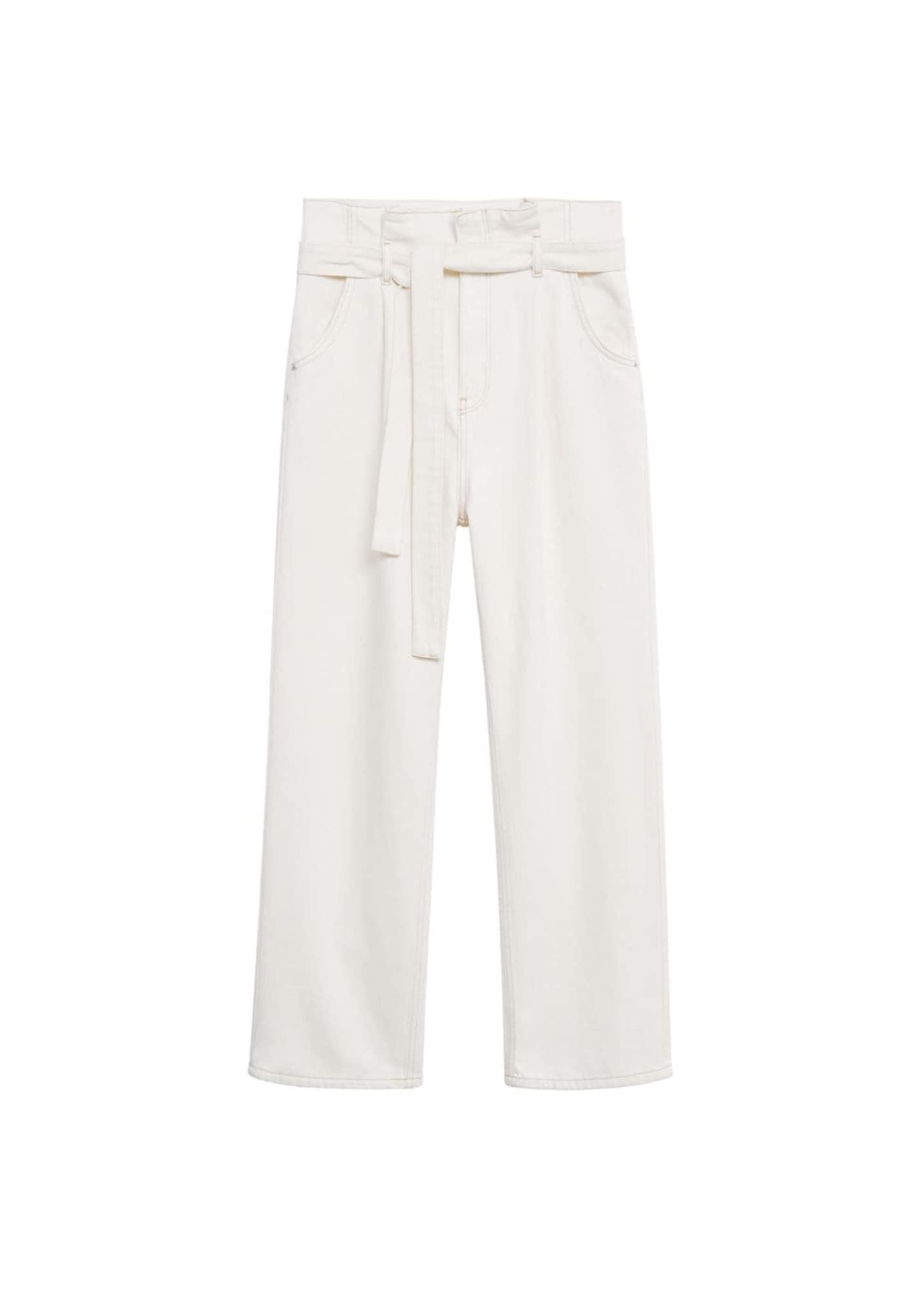 MANGO Jeans 'live' creme
