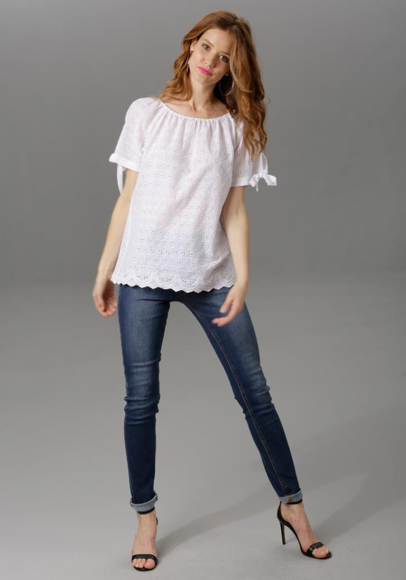 Aniston CASUAL Aniston CASUAL Slim-fit-Jeans dunkelblau