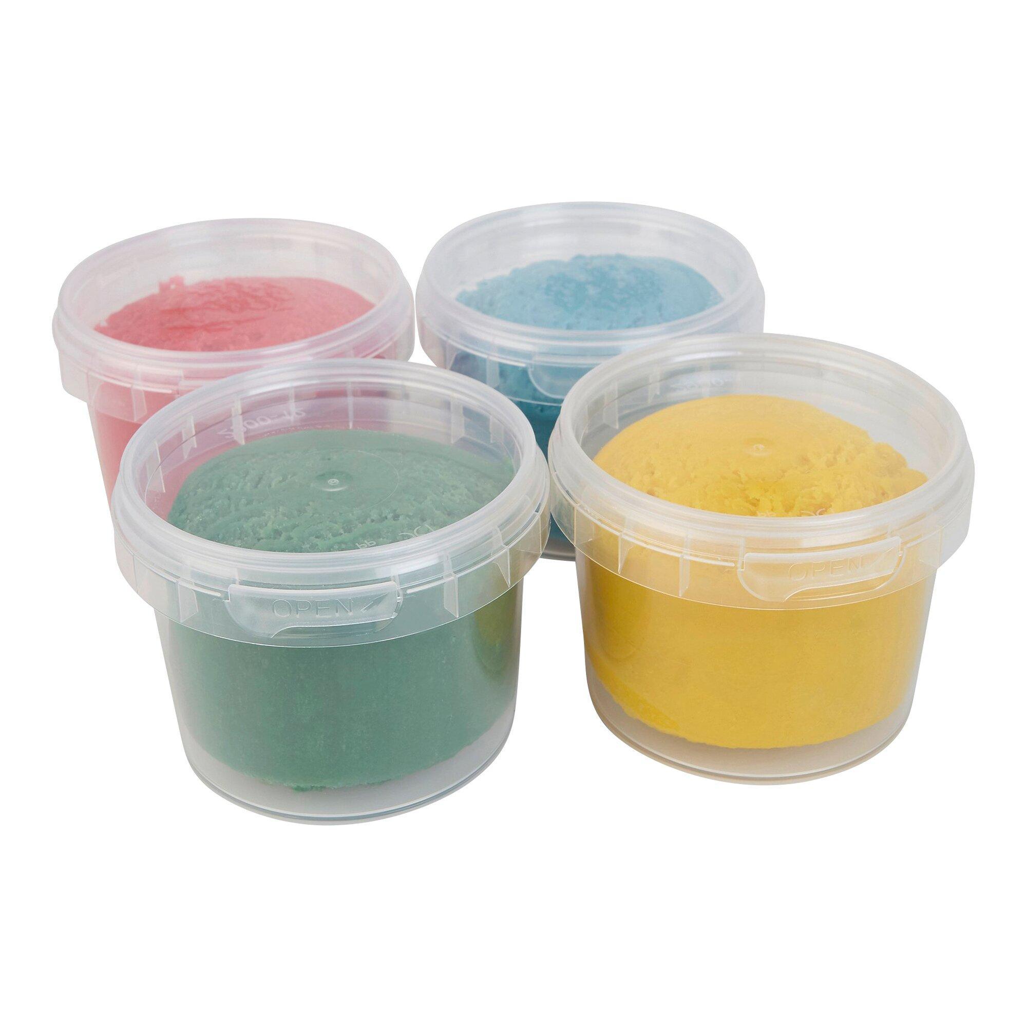 Bio-Soft-Knete 4 Farben