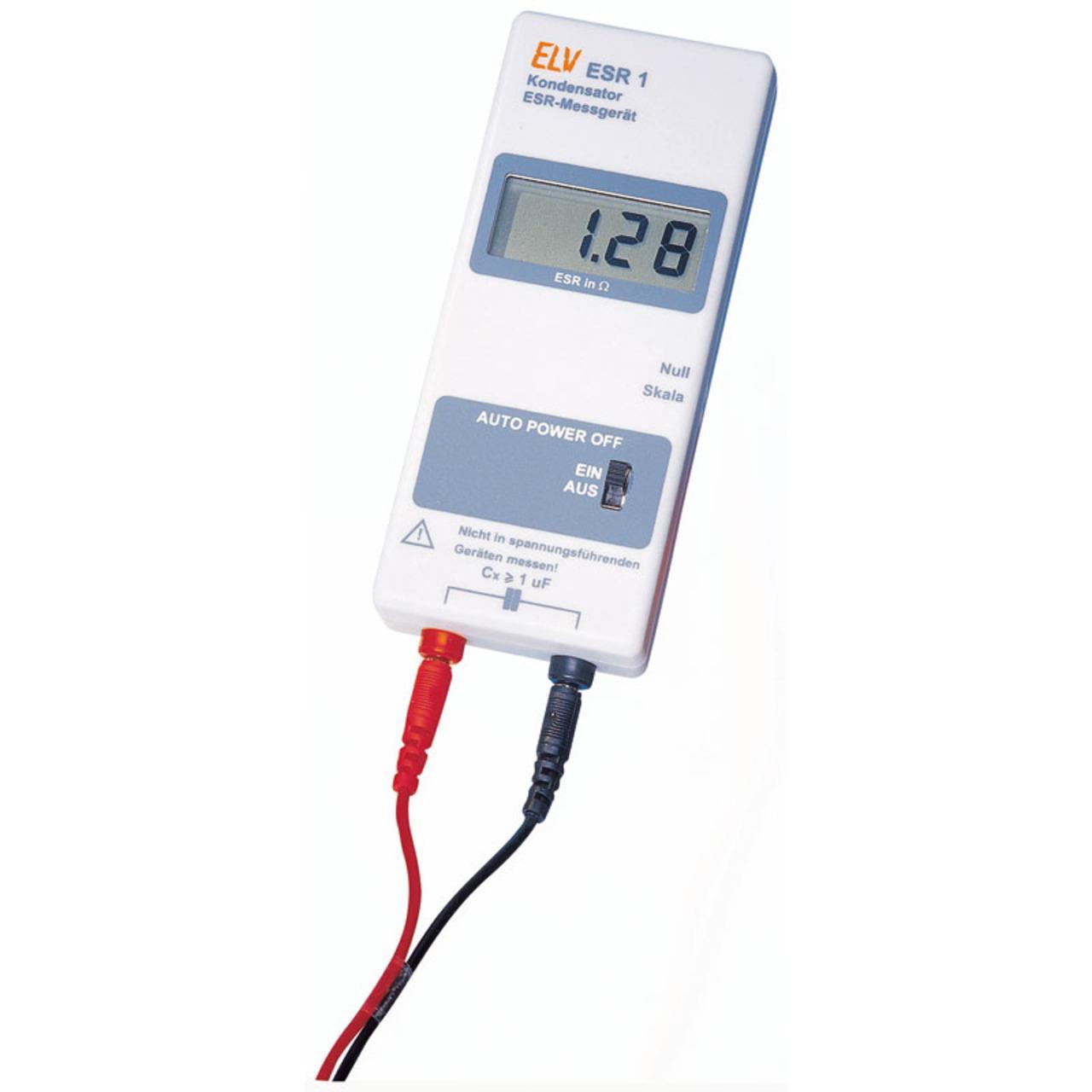 ELV Bausatz ESR-Messgerät ESR 1 inkl. Messleitungen
