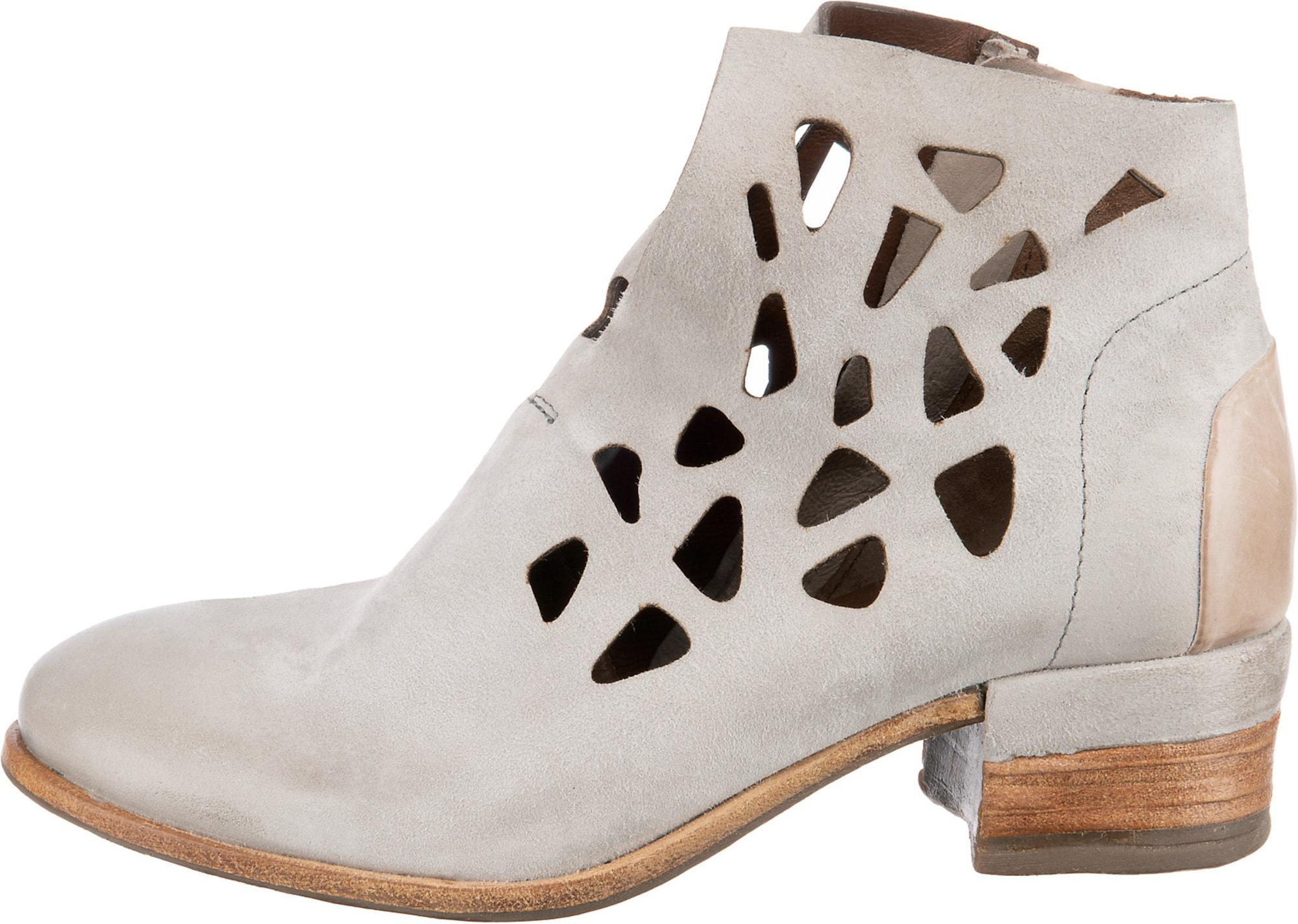 A.S.98 Give Cut Out-Stiefeletten hellgrau