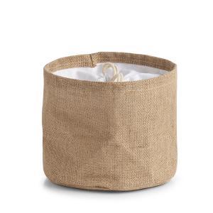 Zeller Aufbewahrungsbeutel, Universalbeutel zum Aufbewahren von Lebensmitteln oder kleineren Gegenständen, Maße: ca. Ø 21 x 17 cm