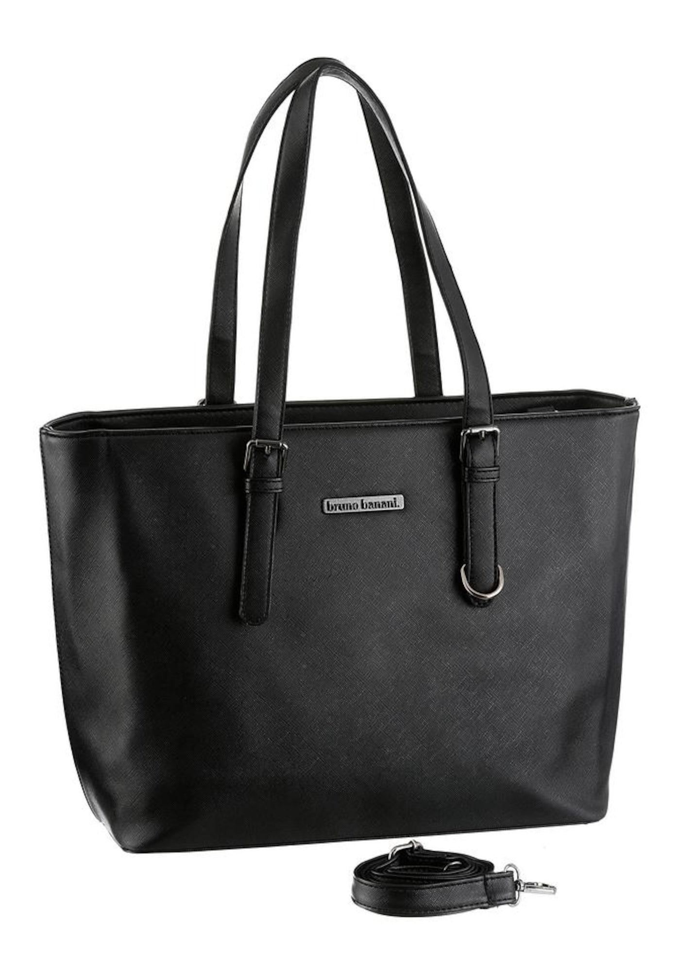 BRUNO BANANI Shopper schwarz