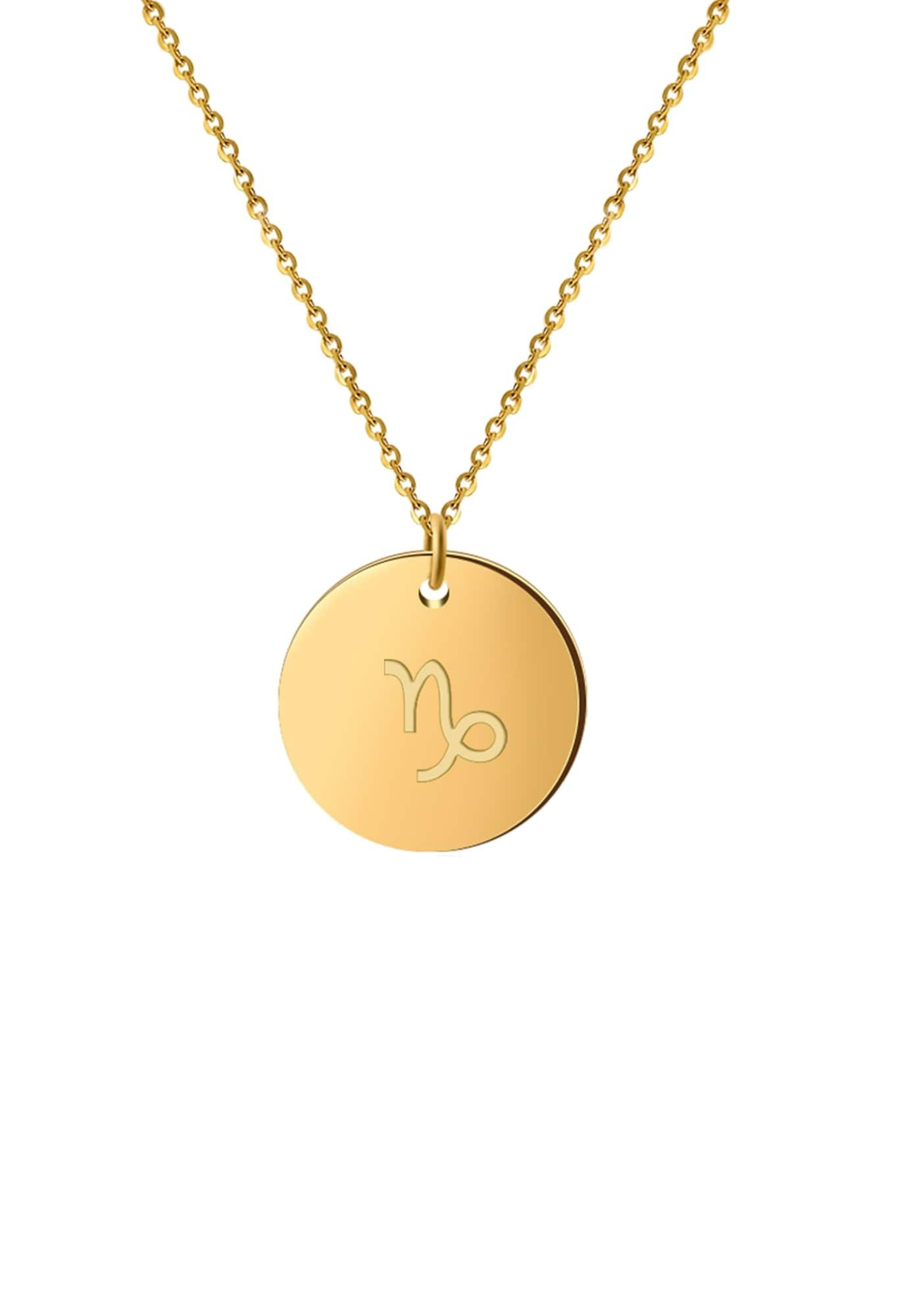 GOOD.designs Kette 'Horoskop' gold