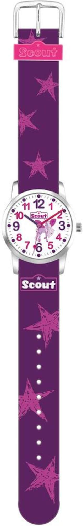 SCOUT Uhr lila / pink