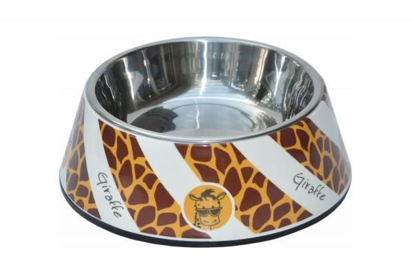 Futternapf 350 ml Melamin Giraffe