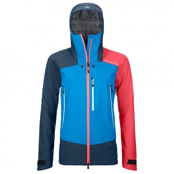 Ortovox - Women's Westalpen 3L Jacket - Regenjacke Gr XS blau/rot