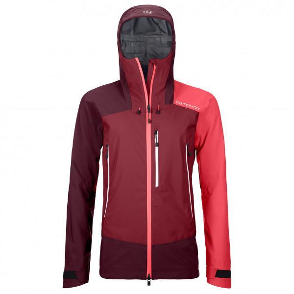 Ortovox - Women's Westalpen 3L Jacket - Regenjacke Gr XS rot/lila