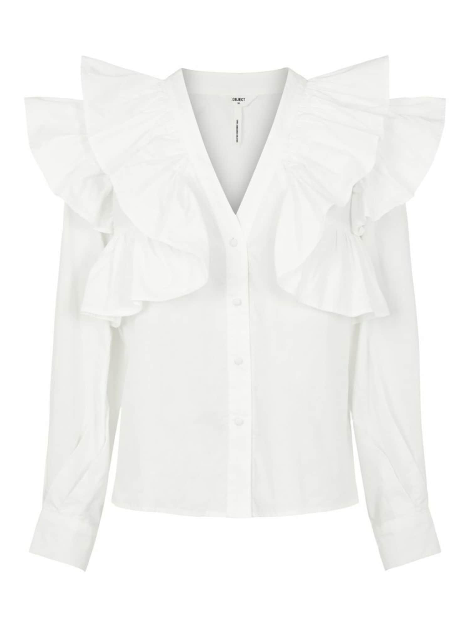 OBJECT Bluse weiß