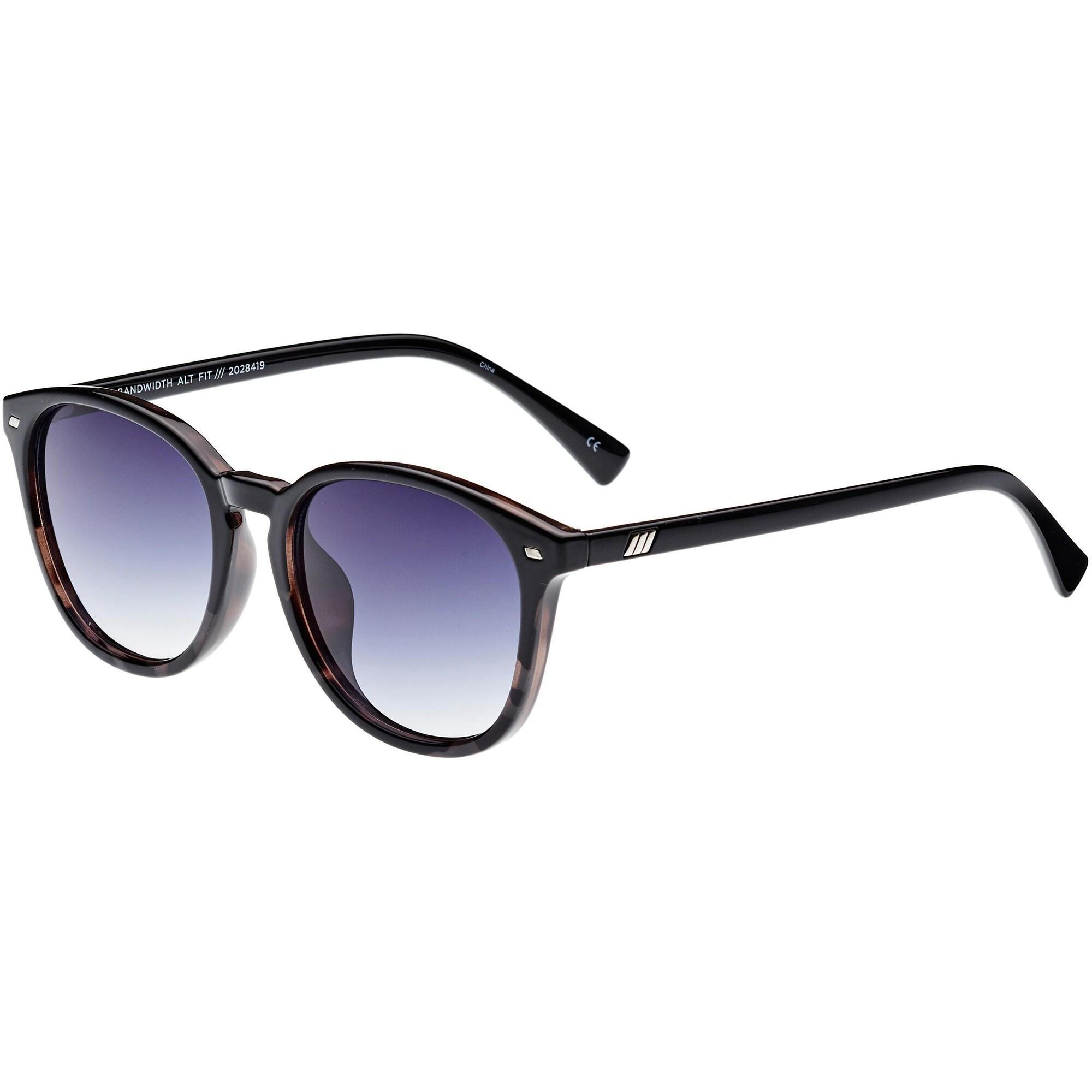LE SPECS Sonnenbrille 'Bandwidth Alt Fit' schwarz / taubenblau
