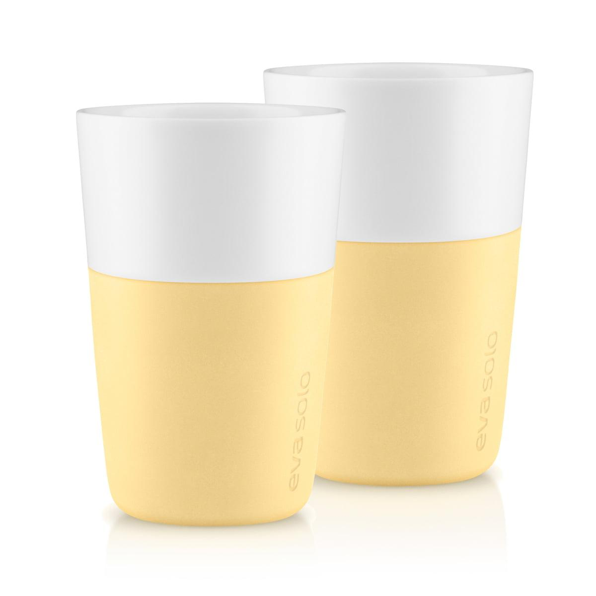 Eva Solo - Caffé Latte-Becher (2er-Set), lemon