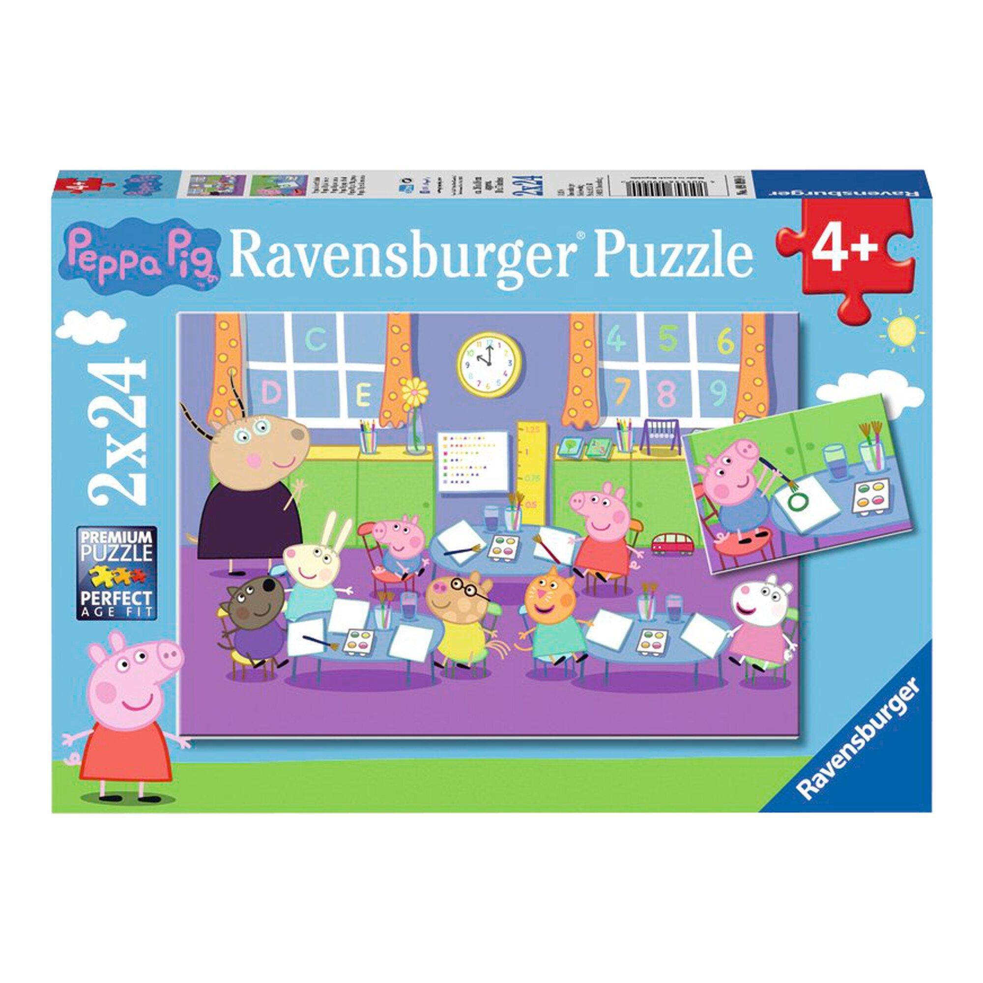 Puzzle - Peppa in der Schule