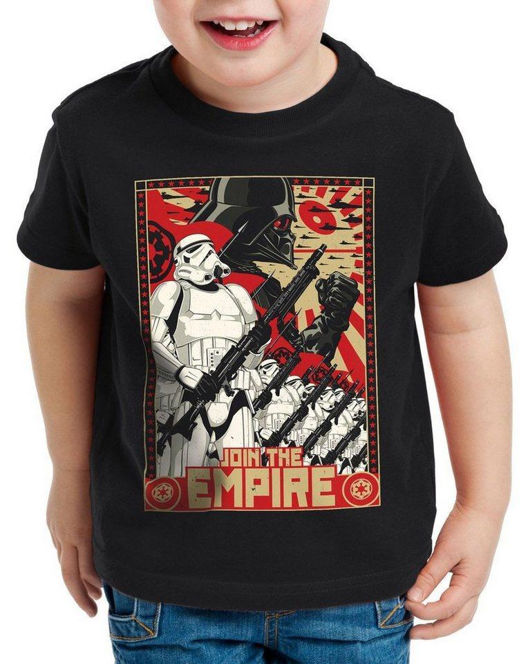 style3 Print-Shirt Kinder T-Shirt Join the Empire imperium sturmtruppen