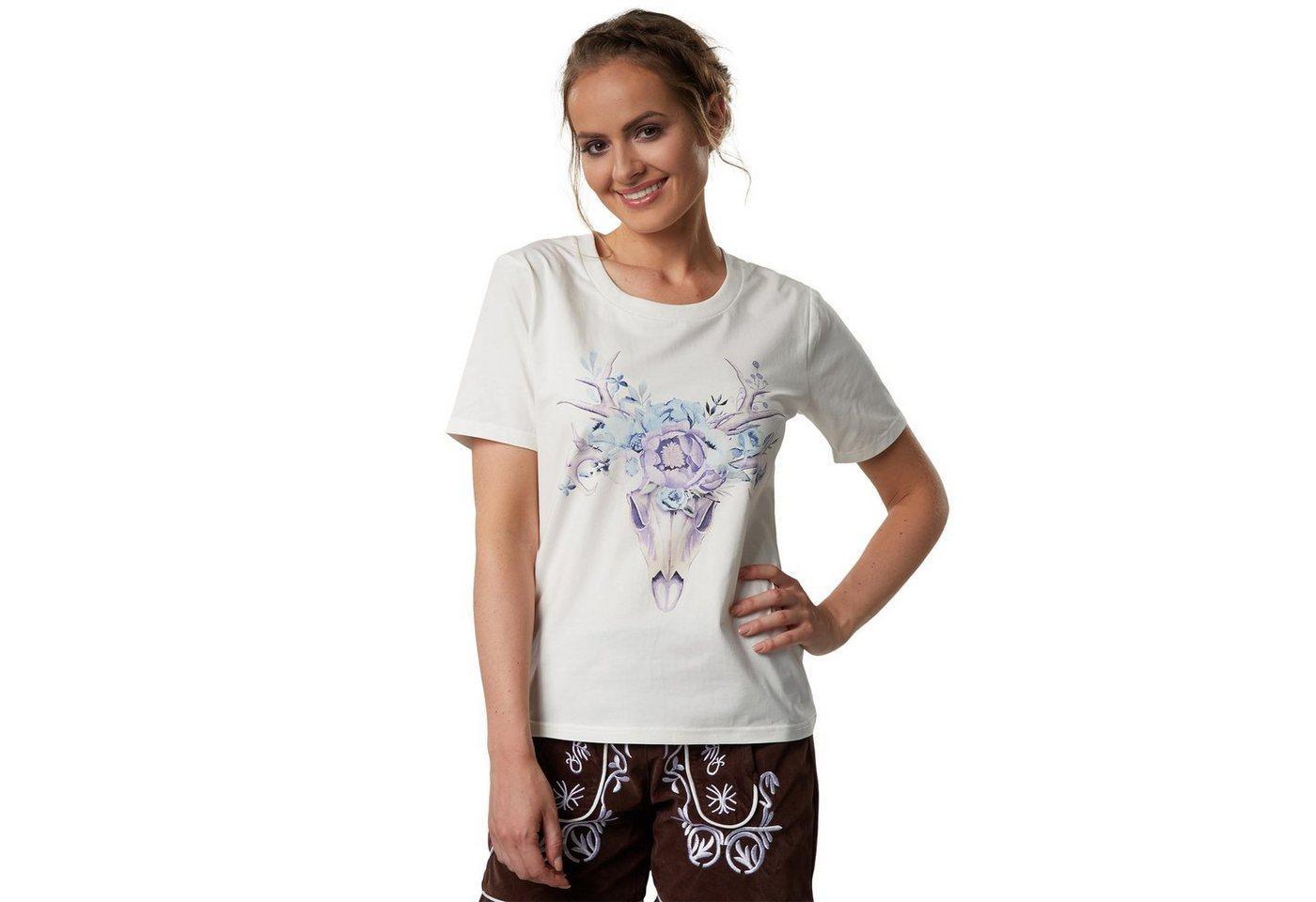 tectake T-Shirt »T-Shirt Waidmannsheil« (1-tlg)