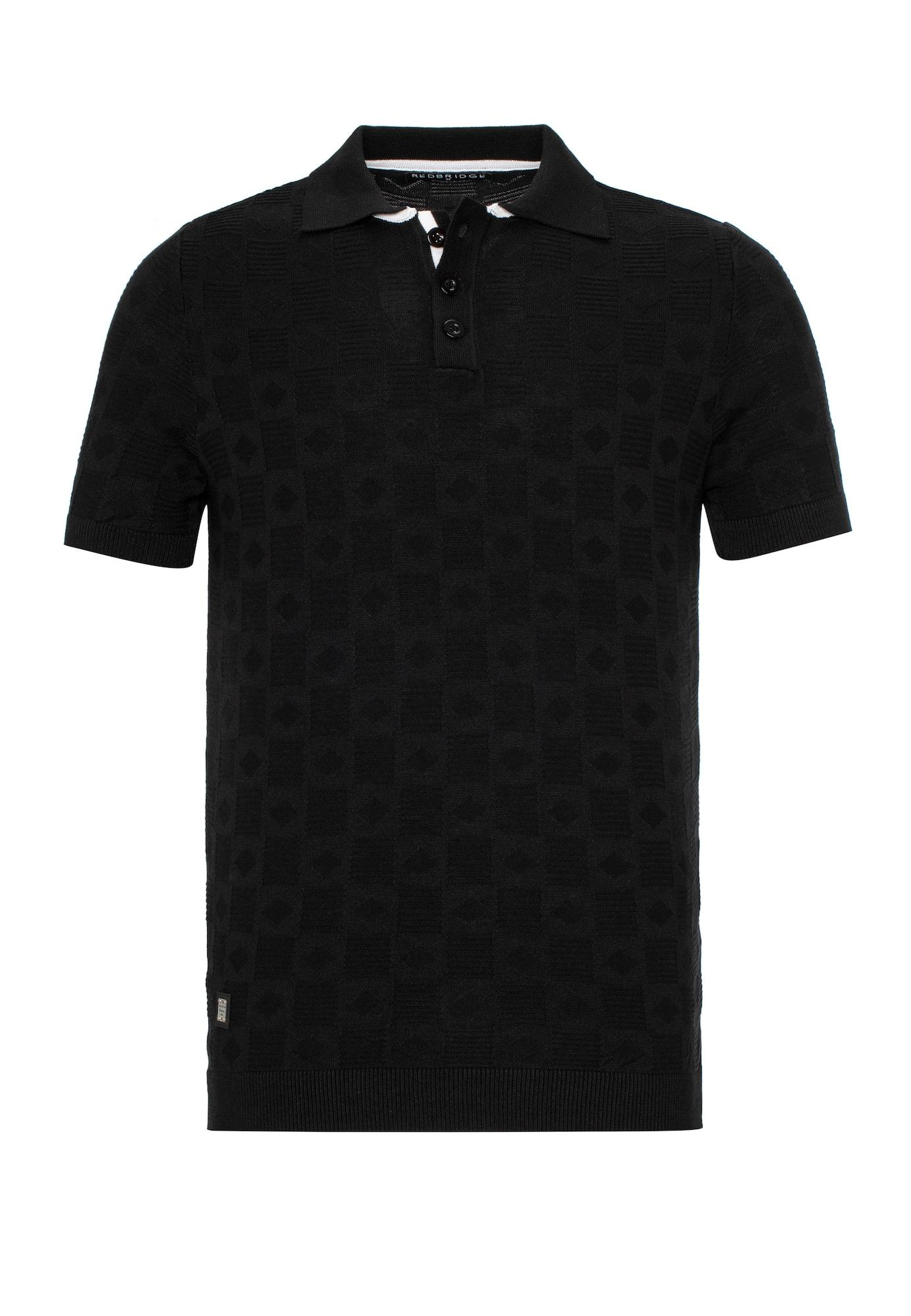 Redbridge Poloshirt 'Odessa' schwarz