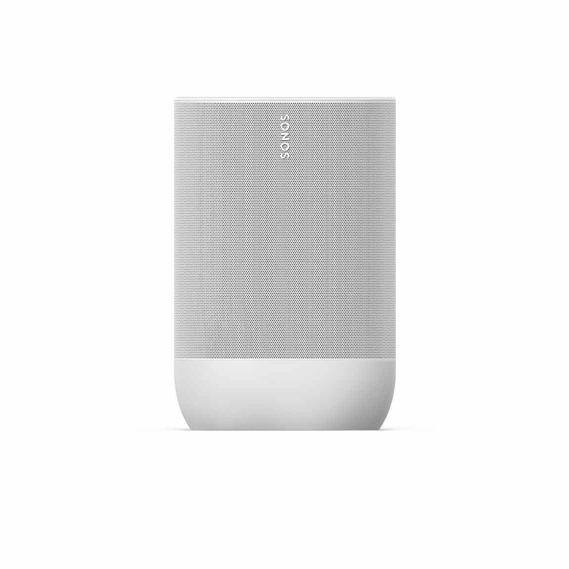 Sonos Move - Tragbarer WLAN- & Bluetooth-Lautsprecher mit AirPlay 2 - Weiß