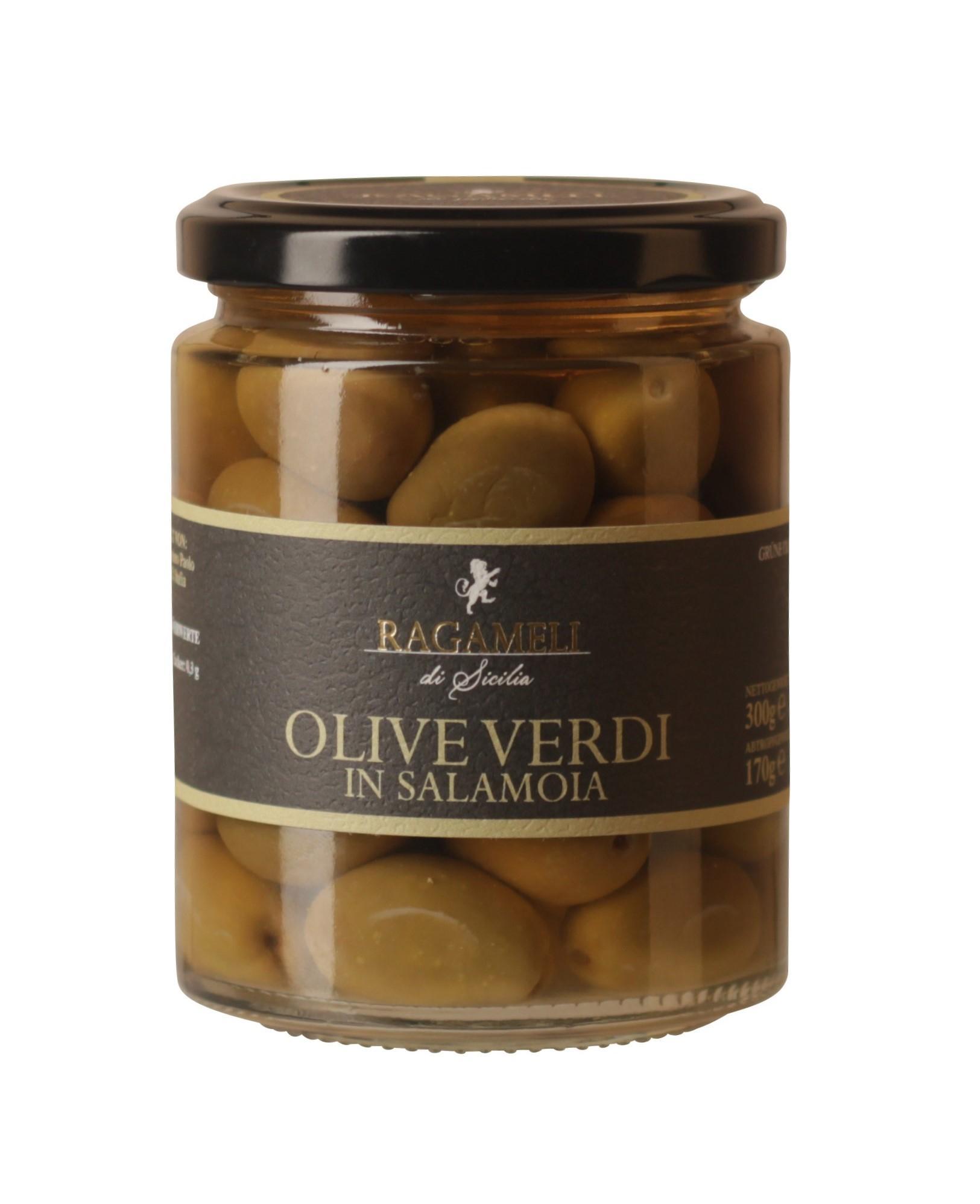 Ragameli Olive Verdi in Salamoia Ragameli di Sicilia