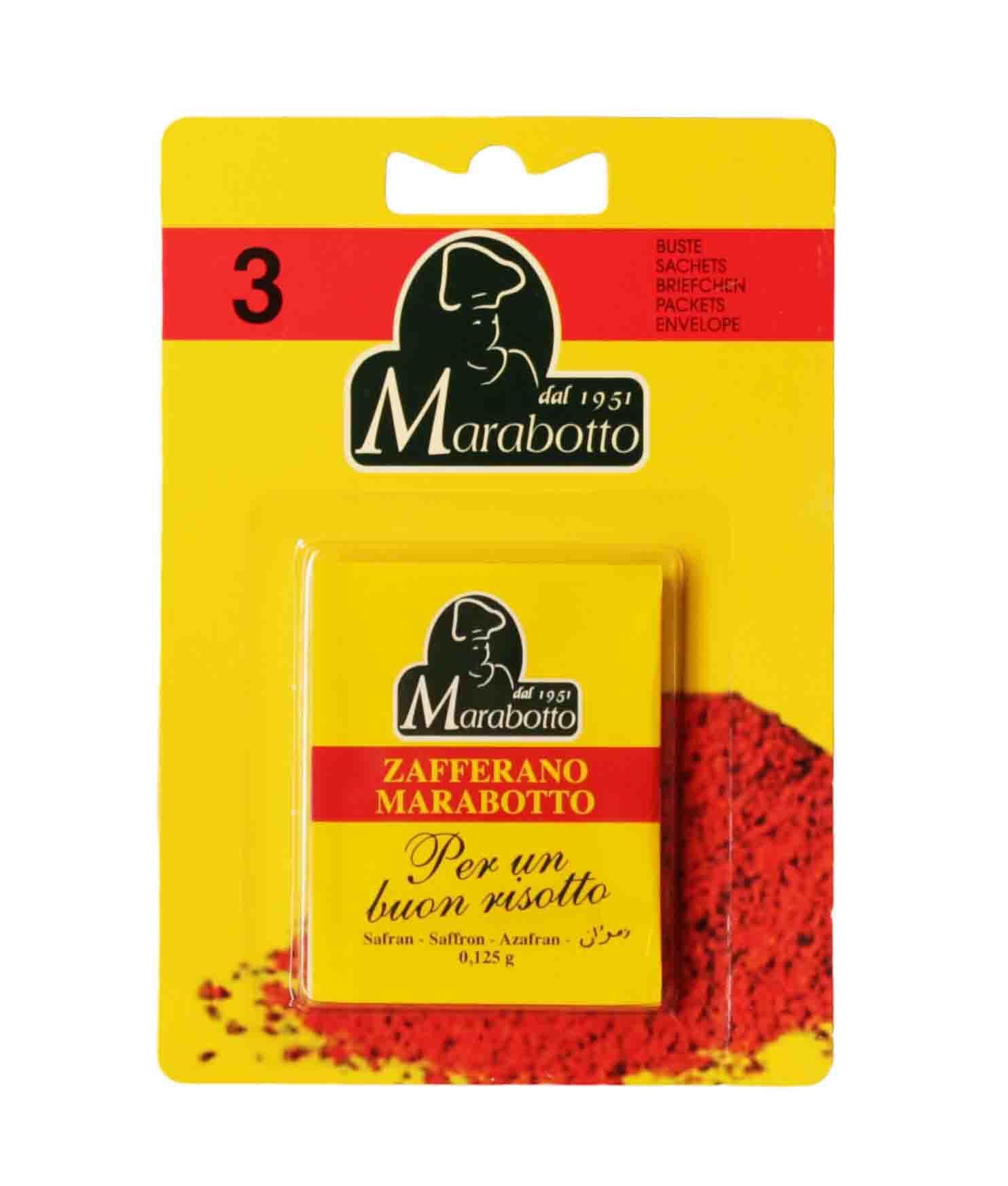 Marabotto Zafferano (3 x 0,125 g)