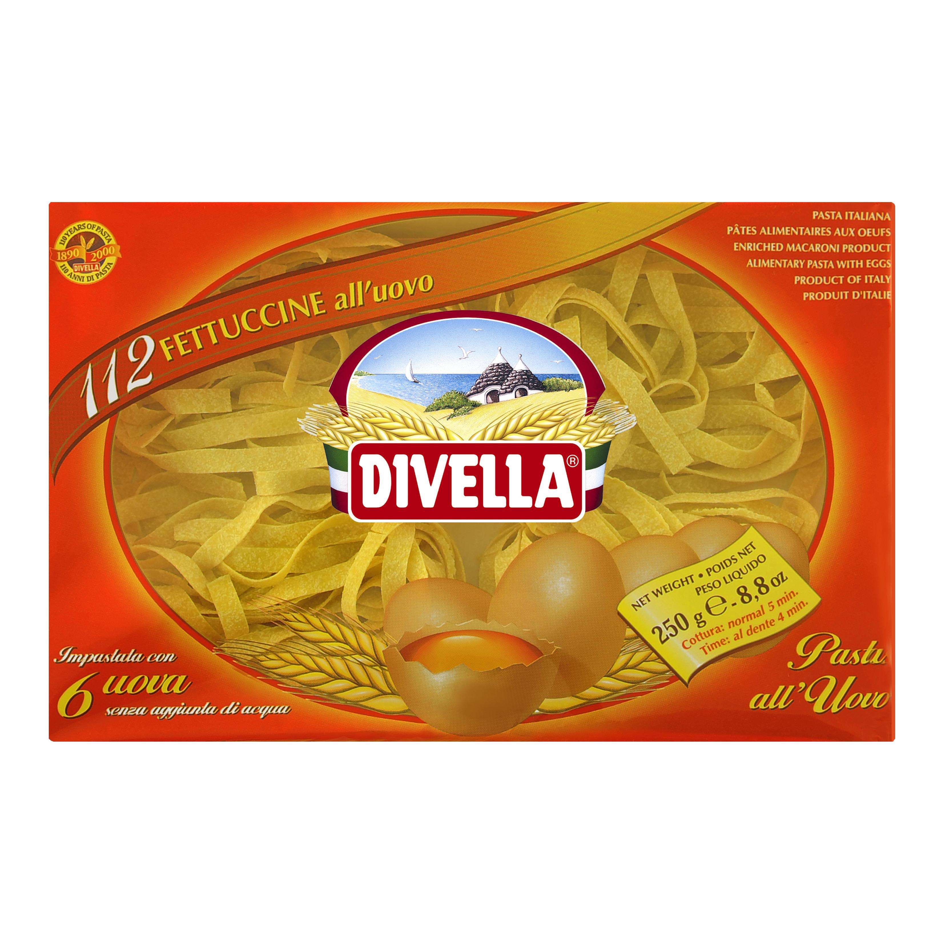 Divella Fettuccine all'Uovo N°112