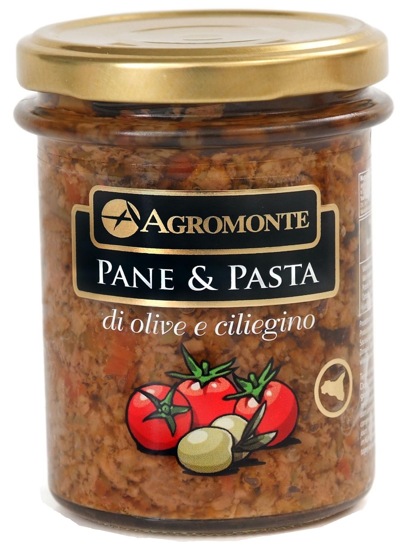 Agromonte Pane & Pasta di Olive e Ciliegino