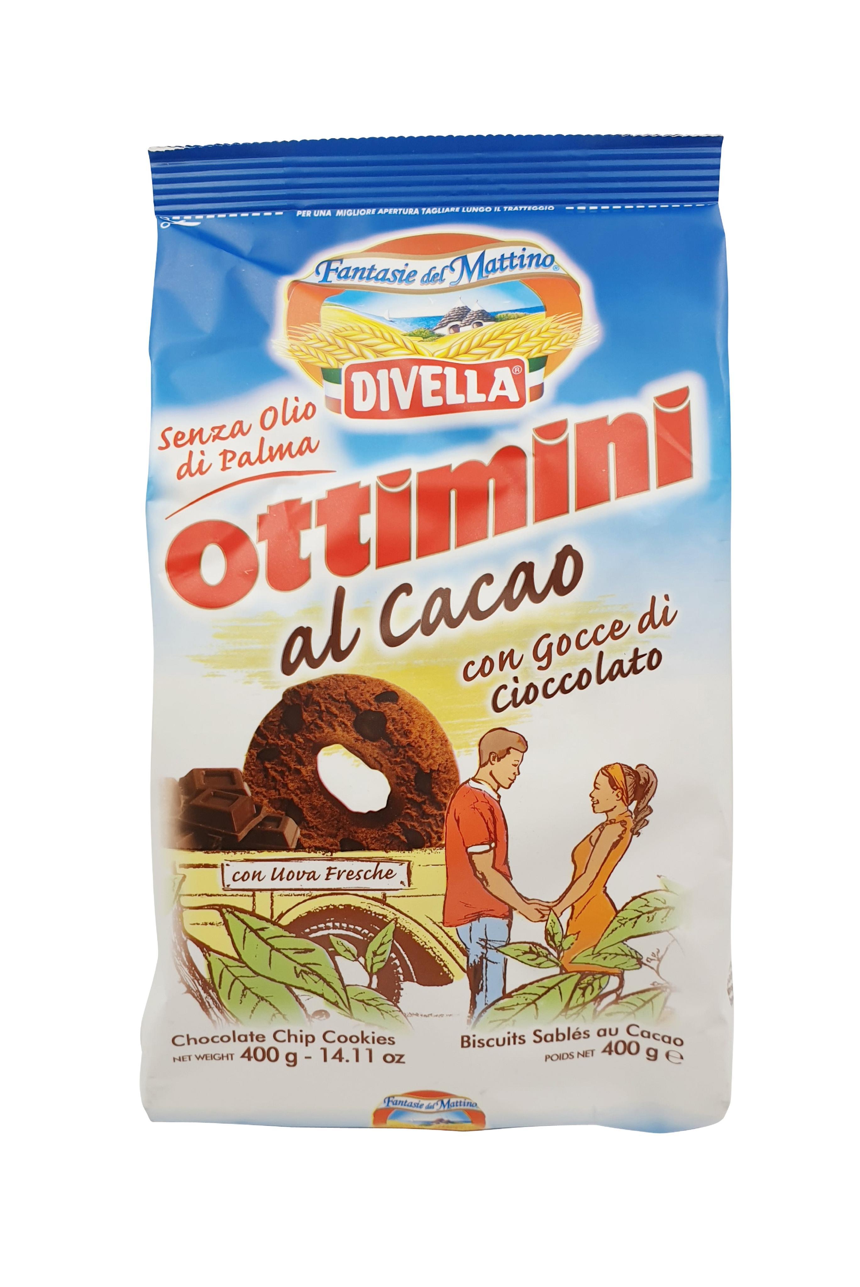 Divella Ottimini Biscotti al Cacao