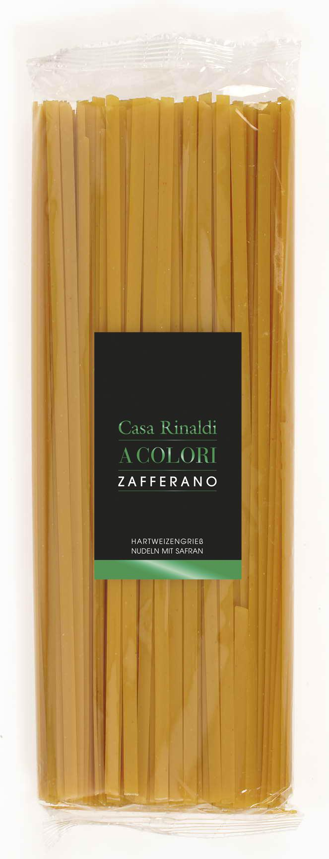 Casa Rinaldi Tagliatelle Zafferano