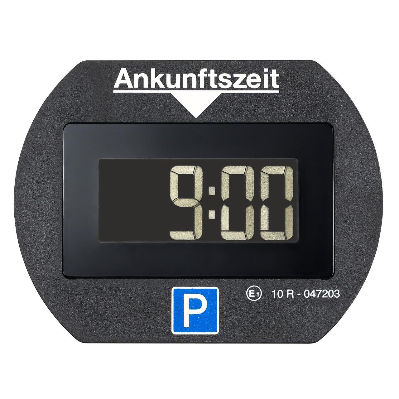 Needit Digitale Parkscheibe PARK LITE, automatische Parkzeiteinstellung, schwarz
